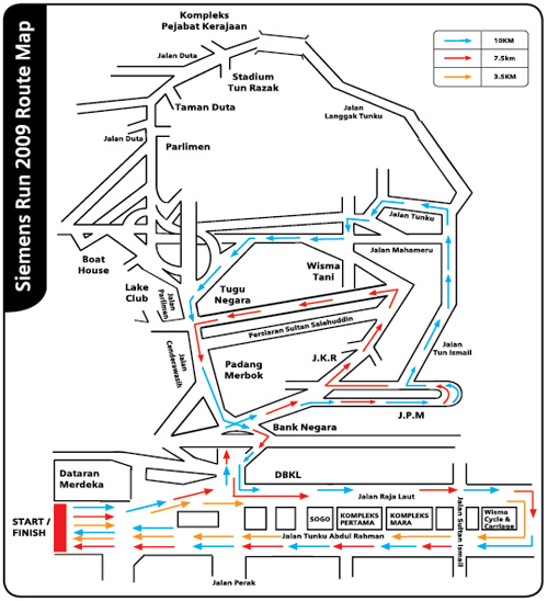 Siemens Routes 2009