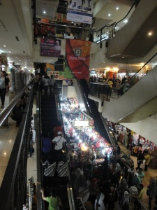 Pasar Baru Bandung - Inside