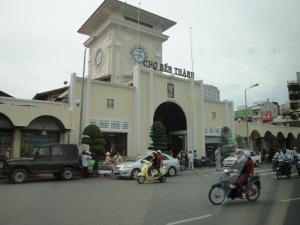 Ben Thanh Market - entrace