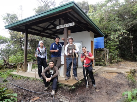 Pondok Kandis - KM1 rest hut