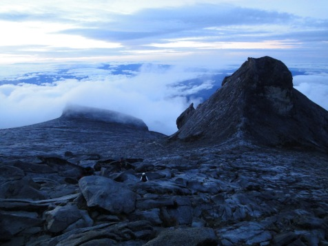 Mount Kinabalu - near the peak