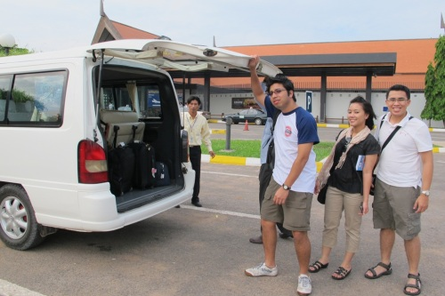 Siem Reap airport - pickup
