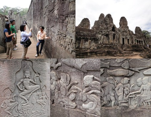 Angkor Thom bas-relief