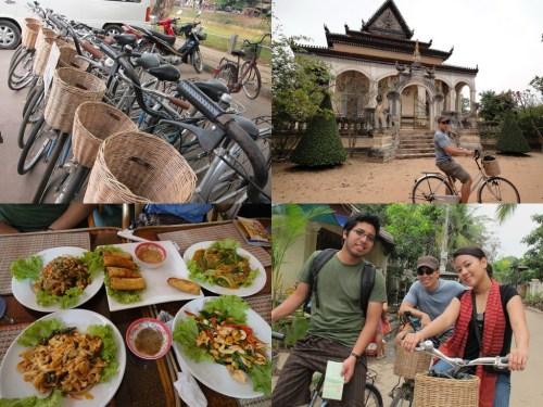 Cycling around Siem Reap