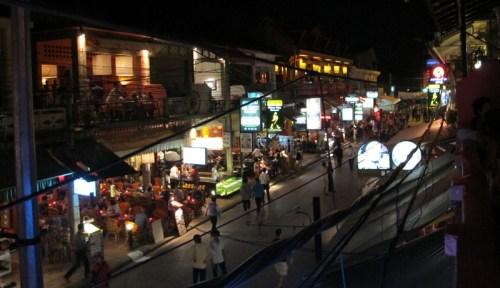 Pub Street - evening