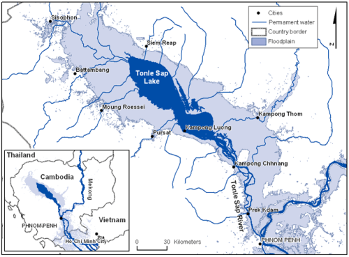 Tonle Sap Map