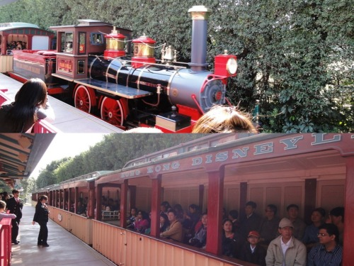 Disneyland Rail explorer