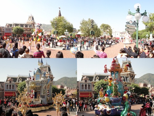 Disneyland morning parade