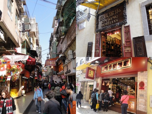 Shops near Senado Square