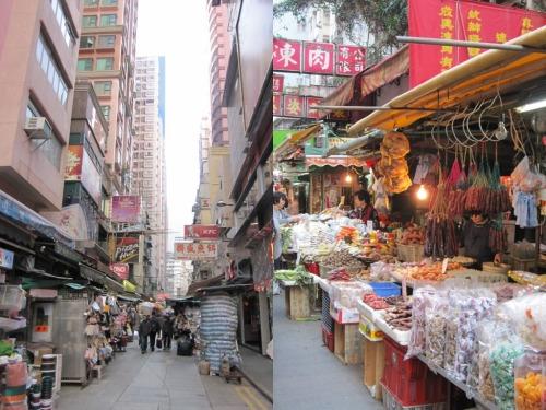 Wanchai Street Market