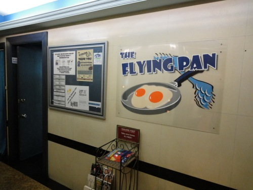 The Flying Pan - Entrance