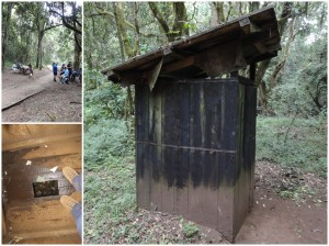 Notorious Kilimanjaro toilet