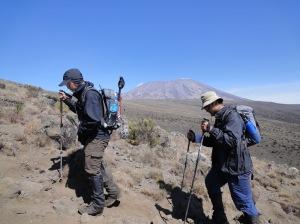 The trek to Mawenzi Camp