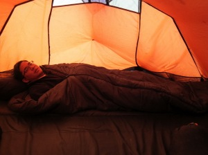 Aiman sleeping