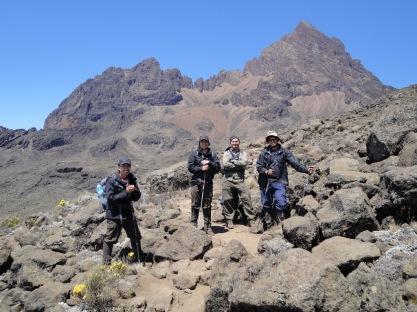 Mawenzi - acclimatization walk
