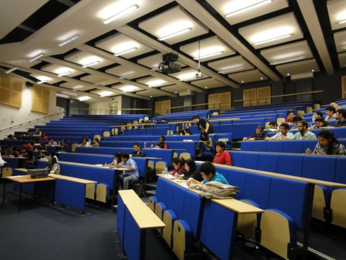 Julian Hodge lecture theater