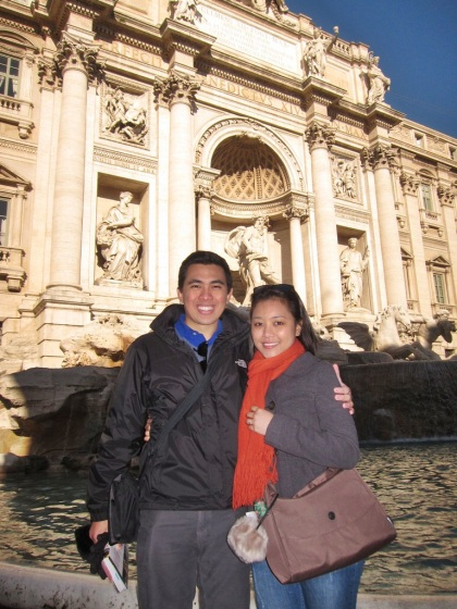 Proposal at Trevi