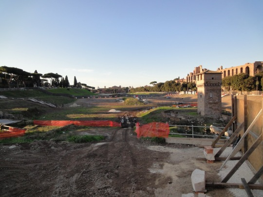 Remains of Circus Maximus