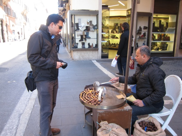 Roman street nuts