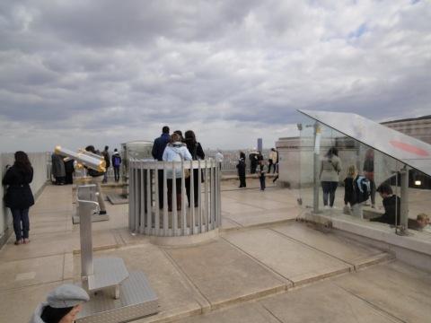 Roof of Arc de Triomphe