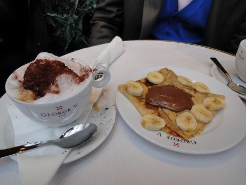 Teatime at Café George V