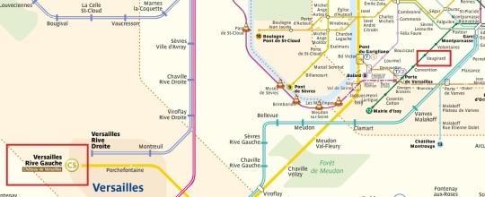 Vaugirard to Versailles