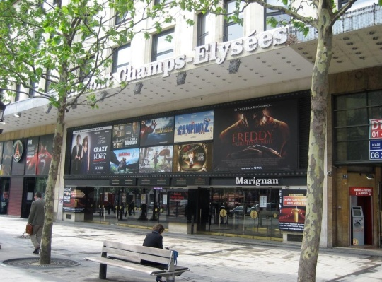Gaumont Champs-Elysées (photo from projectionniste.net)