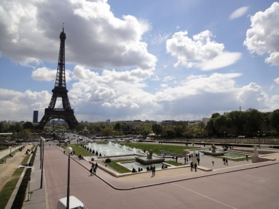 View from Trocadero