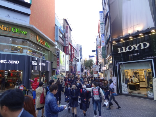 Shops at Myeong-dong