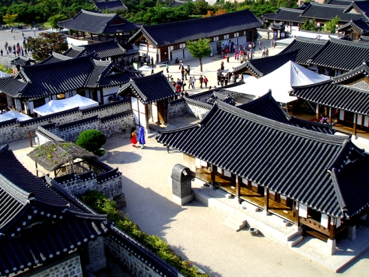 Namsan Hanok Village (photo from cosmojin.com)
