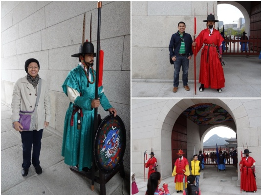 Gyeonbokgung guards