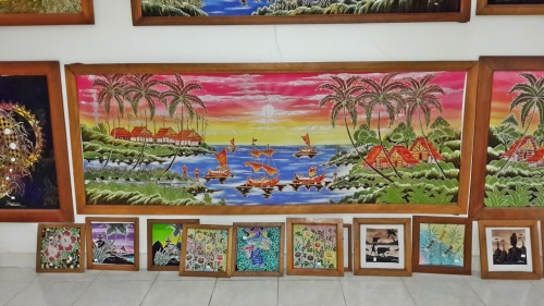 Batik products at Sari Amerta