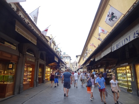Shops on Ponte Vecchio
