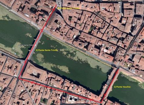 Ponte Vecchio Route
