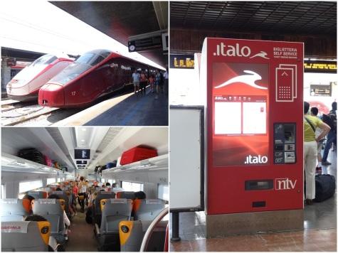 Italo Treno train