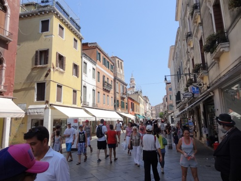 Strada Nuova, the main street in Cannaregio