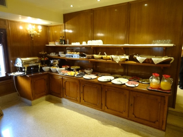 Breakfast at Pesaro Palace Hotel