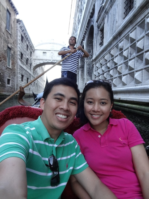 Our gondola ride