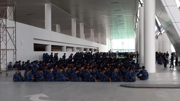 National Service kids in ORAT