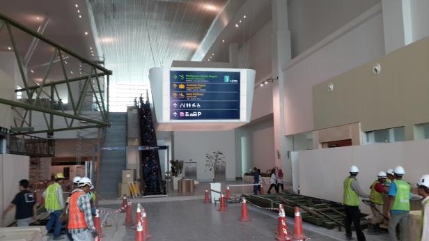 Terminal area