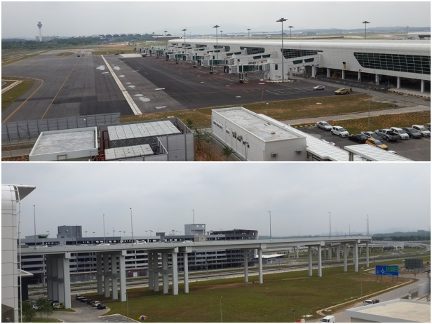 View of KLIA 2 surroundings