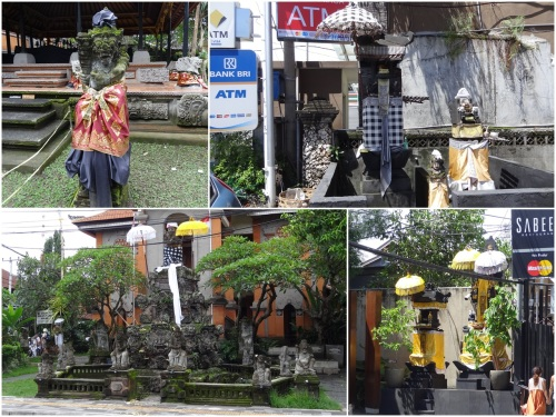Balinese Hindu shrine