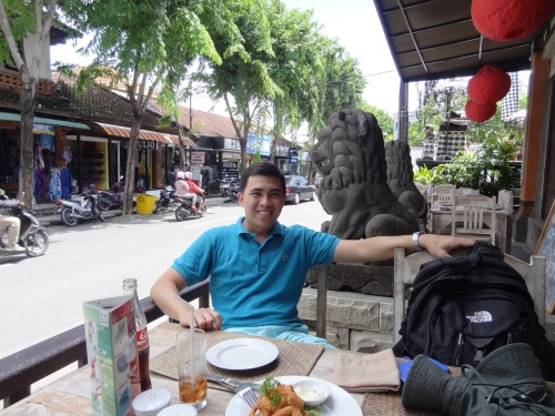 Lunch in Kuta