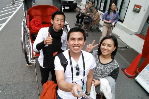 With our tourguide, Honjo-san