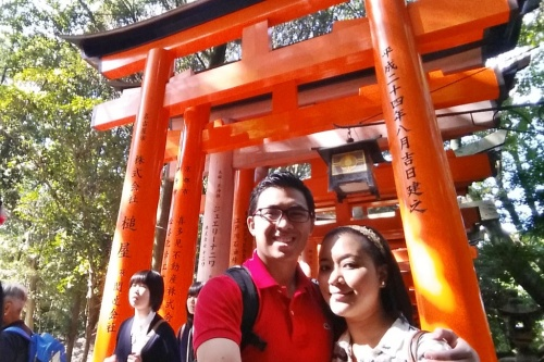 The famous Torii Gates