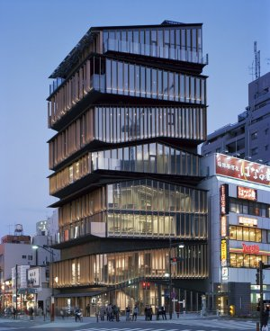 Asakusa Tourist Information Center (photo from openbuildings.com )
