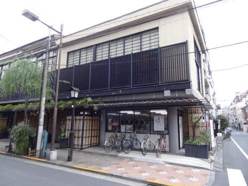 Geisha office in Asakusa
