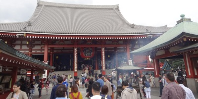 The Hondo (main hall) of Senso-ji
