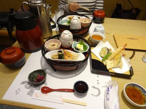 Dinner at Hanagokoro Restaurant