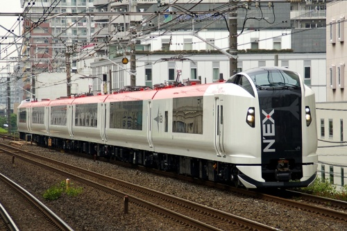 Narita Express (NEX). Photo from Wikipedia